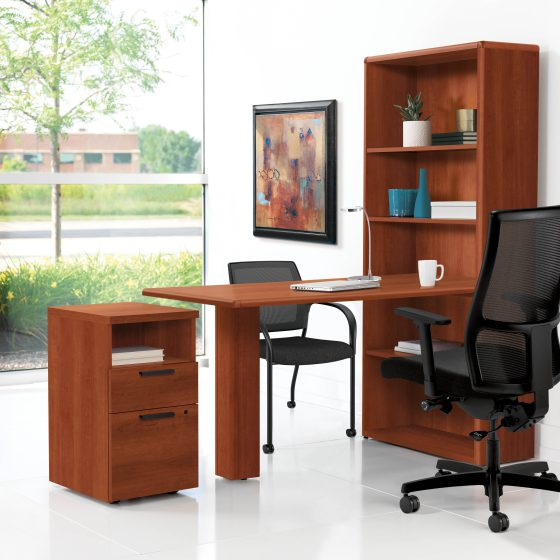 HON 10700 Series Peninsula - Furniture Installation from Sundance Office