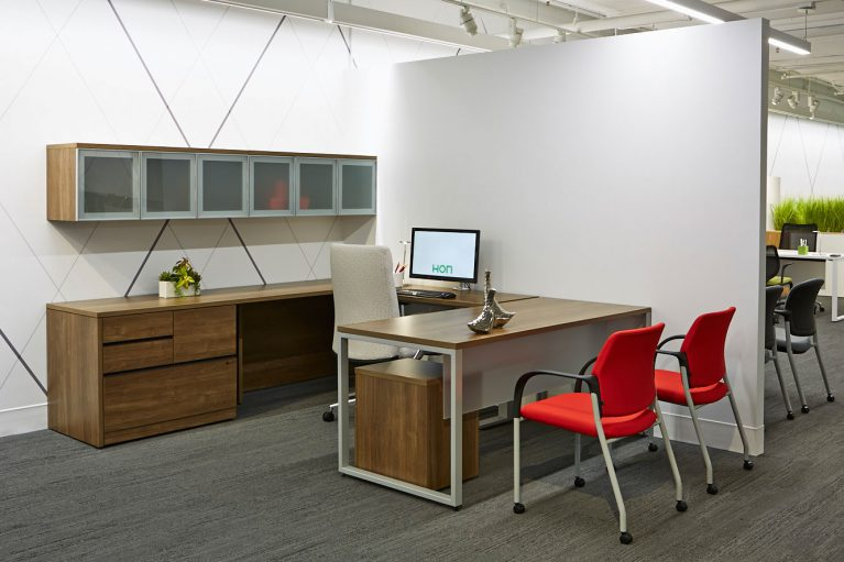 Furniture Delivery From Sundance Office Hon Accelerate U Shape Workstation