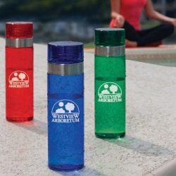fancy water bottles with logo